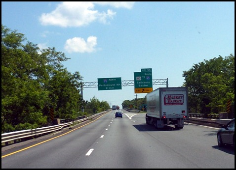 5 - I95 to New Hampshire