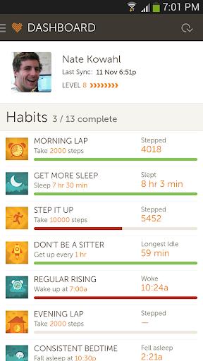 Basis Fitness Sleep Tracker