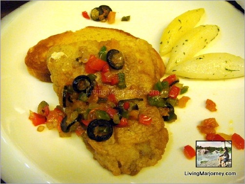 Pan Fried Fish ala Vera Cruz