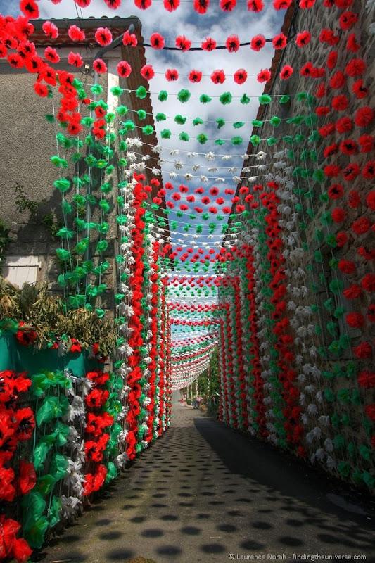 Felibre flower tunnel 1