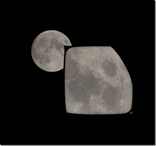Nothing Special: How to edit a full moon image to pull out
