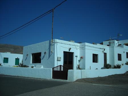 Arhitectura locală din Lanzarote – satul Playa Quemada