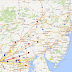 K8GP/R FM09tf QSOs - ARRL Jan VHF SS 2014<br />Marker/line color = highest band completed<br />50=brown,144=red,222=orange,432=yellow<br />902=green,1.2G=blue,2.3G=purple,3.4G=grey,5.7G=white,10G=gold