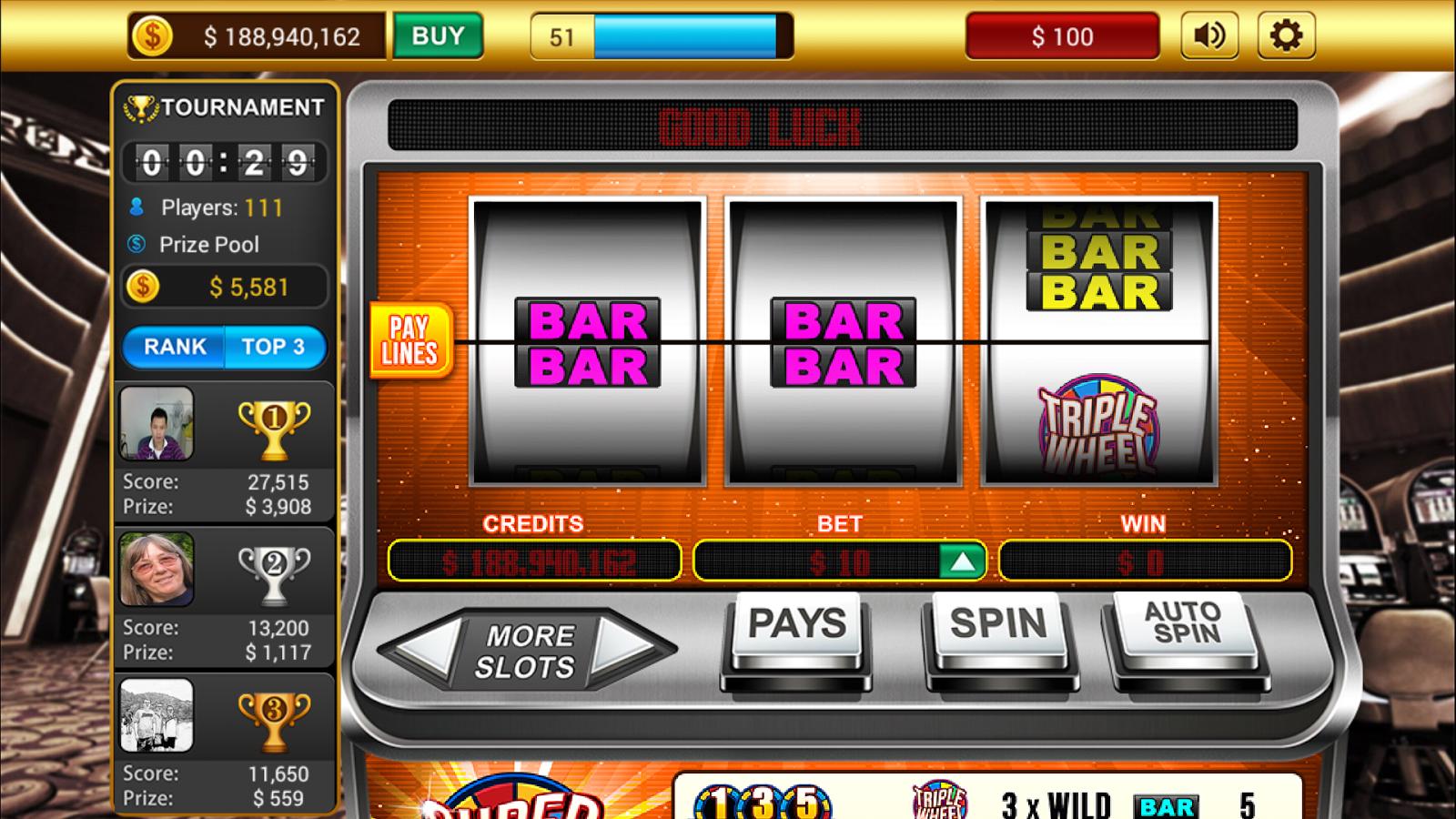 slot machines online classic casino
