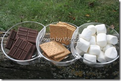 Hershey's S'mores Ingredients