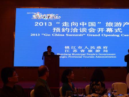 Go China Summit - banchet guvernamental: Primarul deschide evenimentul