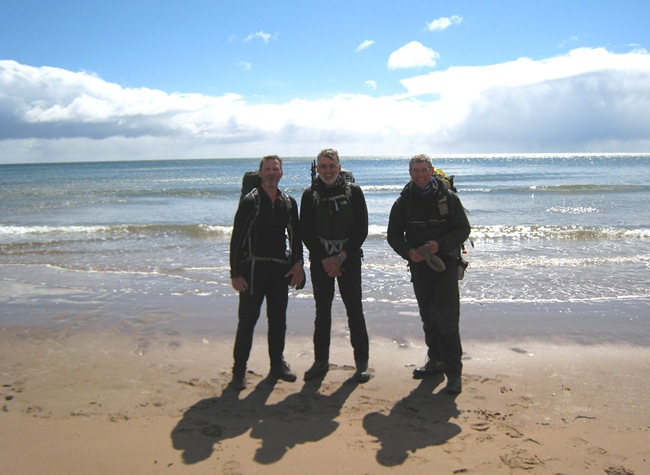 THE TEMPERANCE TRIO, ST CYRUS. 36 CHALLENGES BETWEEN US
