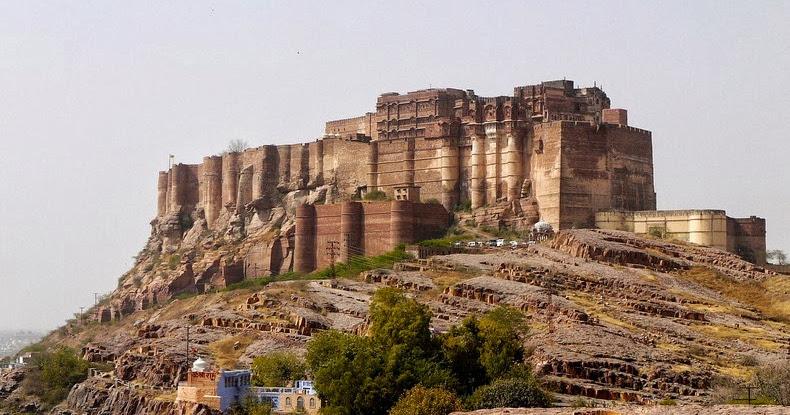 Mehrangarh Fort of Jodhpur, India ~ floxglove