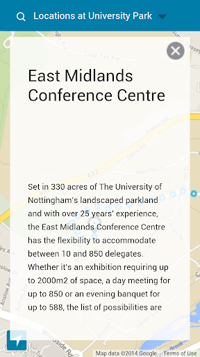 Nottingham Conferences Guide