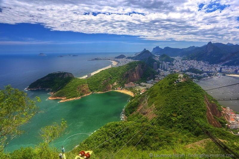 view from sugar mountain rio