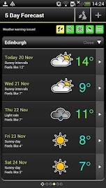 Met Office Weather App Screenshot 4