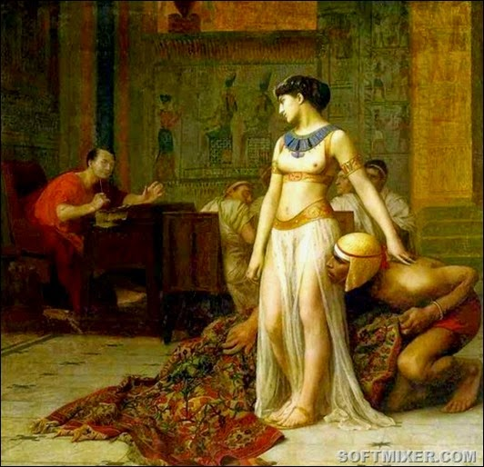Cleopatra_and_Caesar_by_Jean-Leon-Gerome(2)_thumb[17]