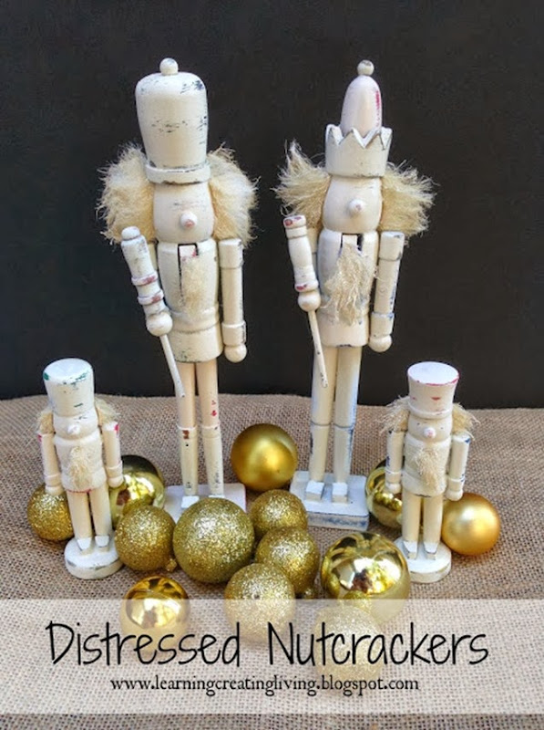 distressed nutcrackers