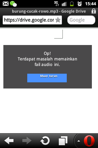 Cara download dengan opera mini