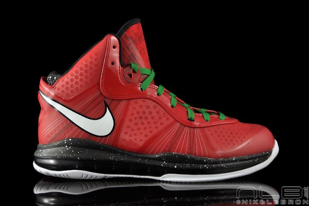ed9839113e01 ... The Showcase Nike Air Max LeBron 8 V2 Christmas Exclusive ...