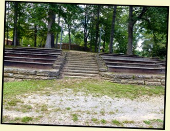 04a - Cumberland Mountain SP, Amphitheater Built by CCC