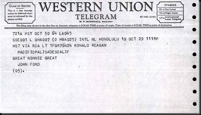 Lo-John Ford-Reagan-Telegram