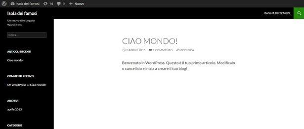 wordpress-sito