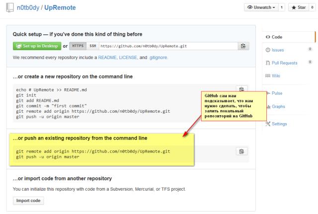 Pro Git: Основы Git – практика работы с удалёнными репозиториями