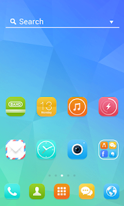 SimpleUnique LINELauncherTheme screenshot 1