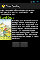 Screenshot of Free Tarot Reading
