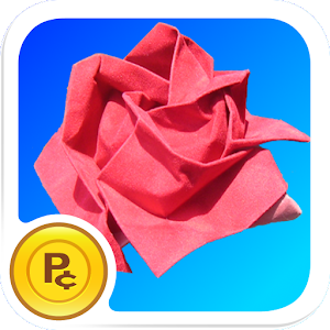 Origami Rose: virtual flower for PC and MAC