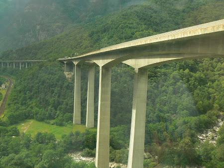 Infrastructura Elvetia: autostrada zburatoare