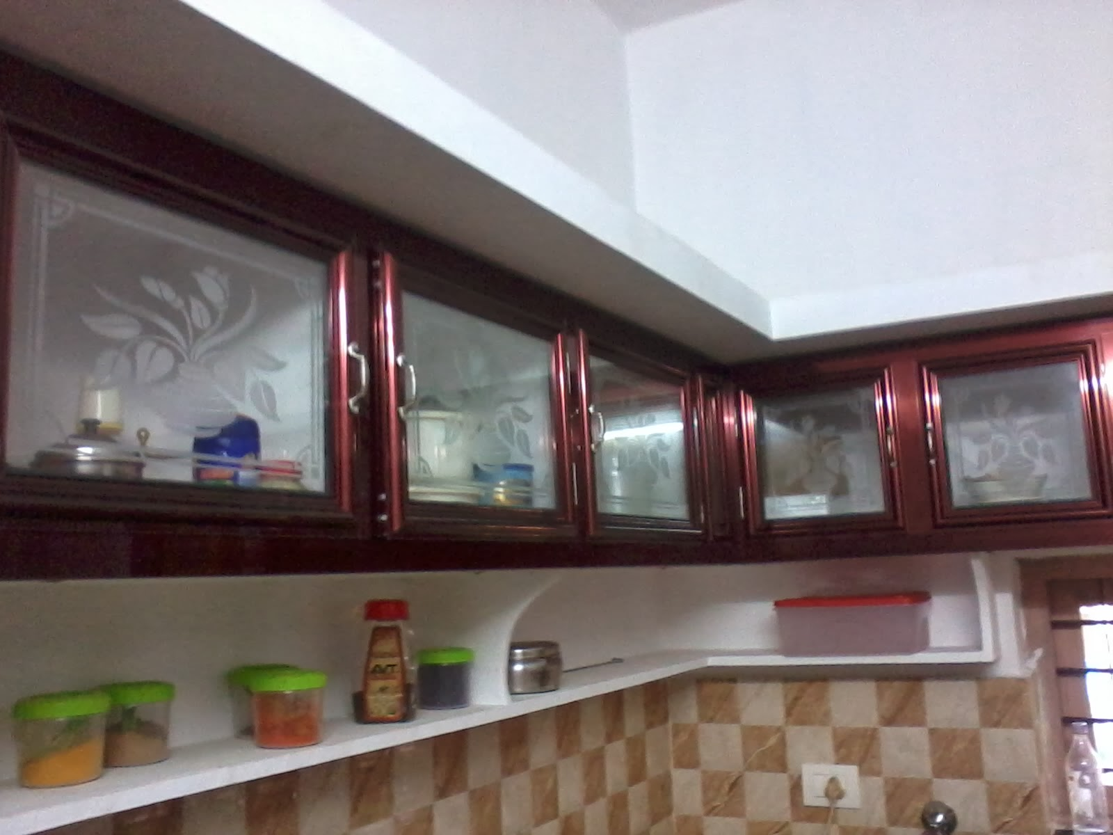 Aluminium Fabrication Kitchen Cabinets