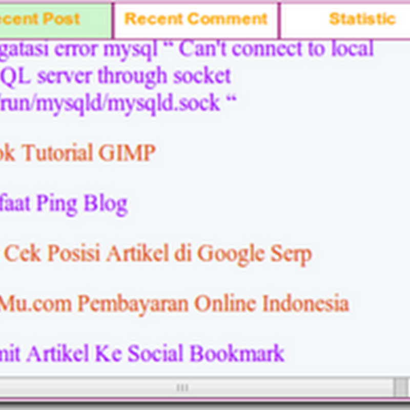 Membuat Menu TAB View