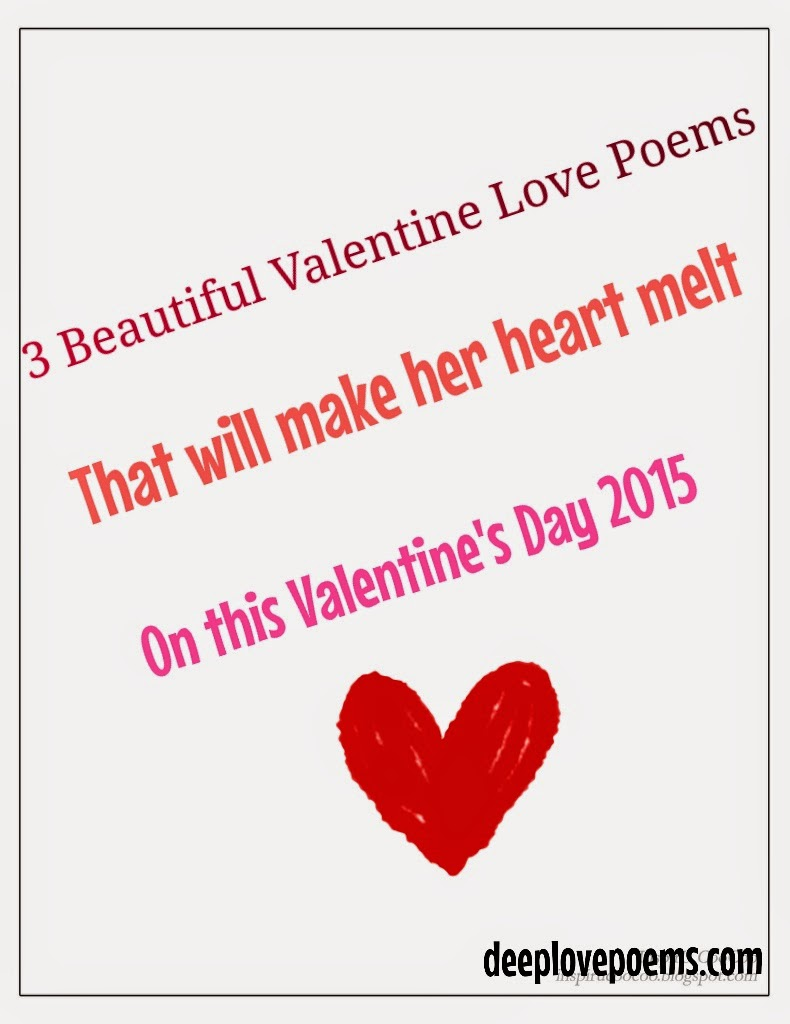 3 best valentine day love poems for her
