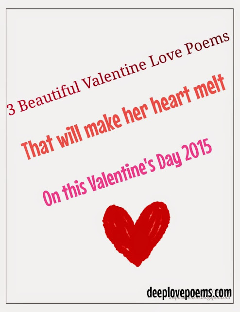 Deep love poems 3 best valentine day love poems for her for Great valentines ideas for her