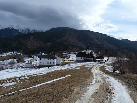 Atractii turistice Bran: schitul Balaban