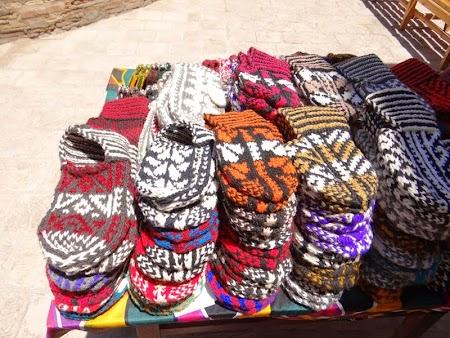 03. Botosei din lana in Uzbekistan.JPG