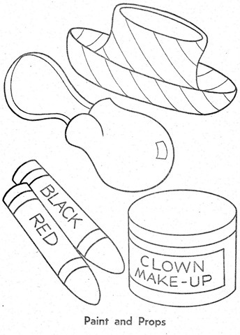 palhaço-colorir-Clowns To Color-coloring page-00010