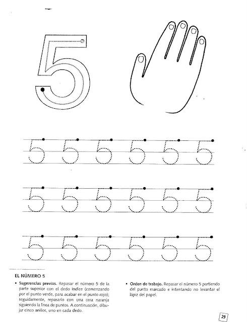 Fichas De Numero 5