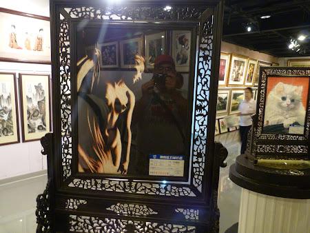 Shopping Shanghai: pictura de 70.000 euro