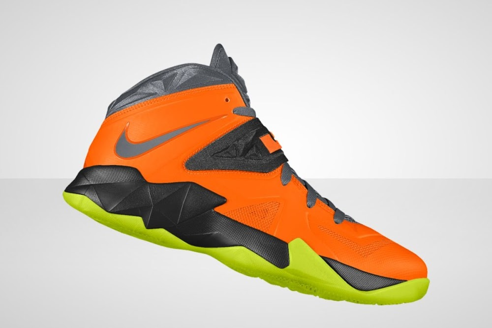 reputable site af239 bbe90 ... LeBron Zoom Soldier VII Available for Customization at Nike iD