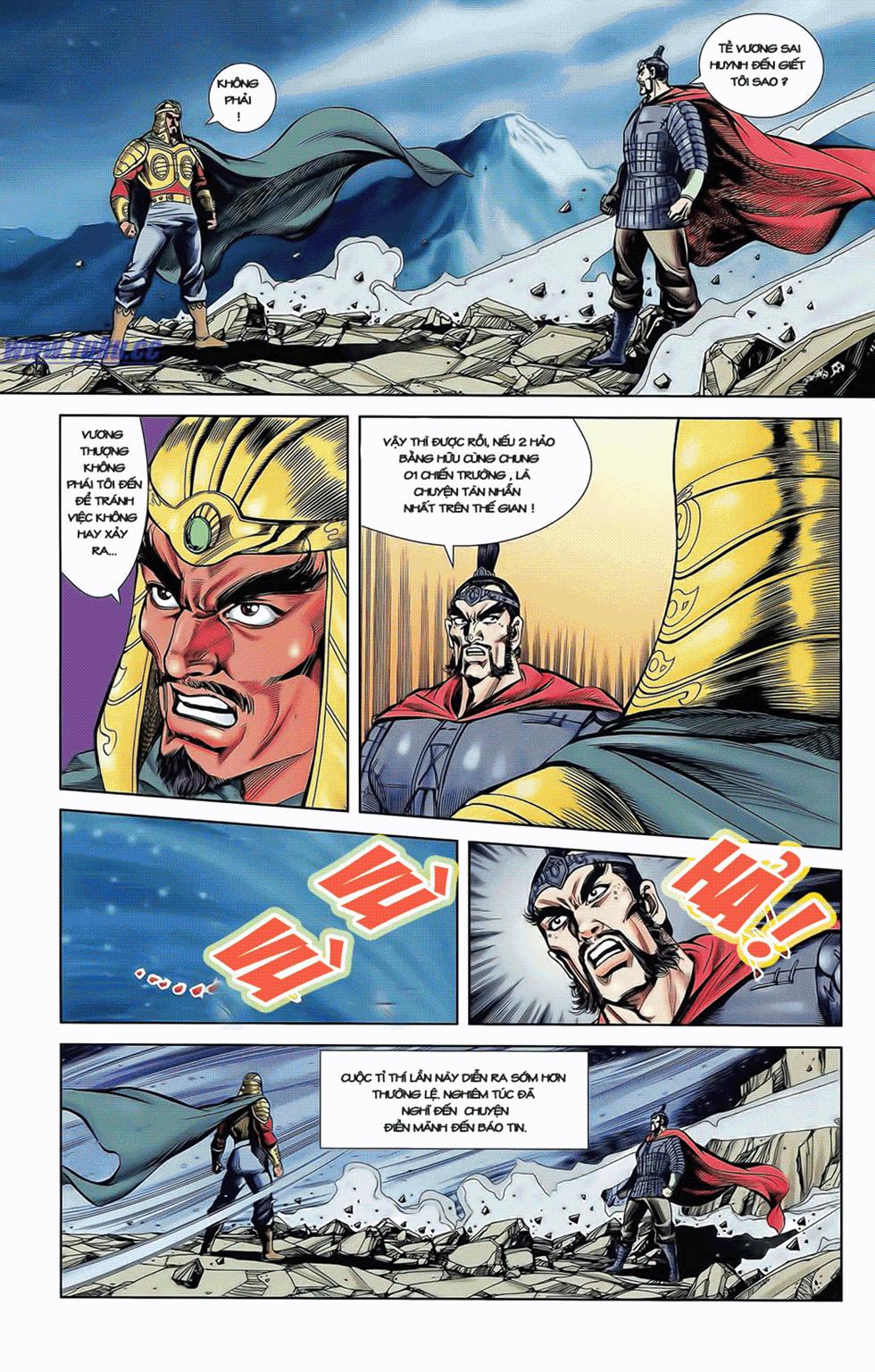 Tần Vương Doanh Chính chapter 7 trang 21