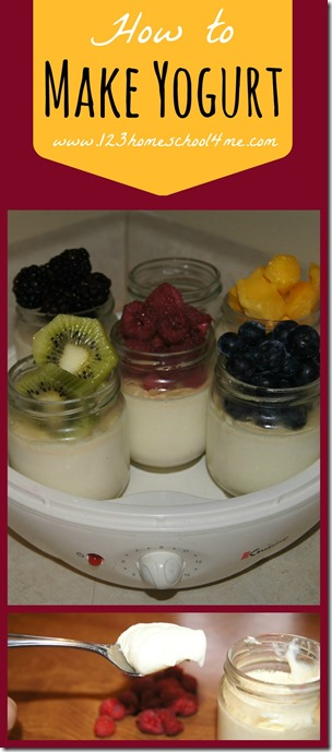 how to make yogurt with an easy recipe #recipes #realfood