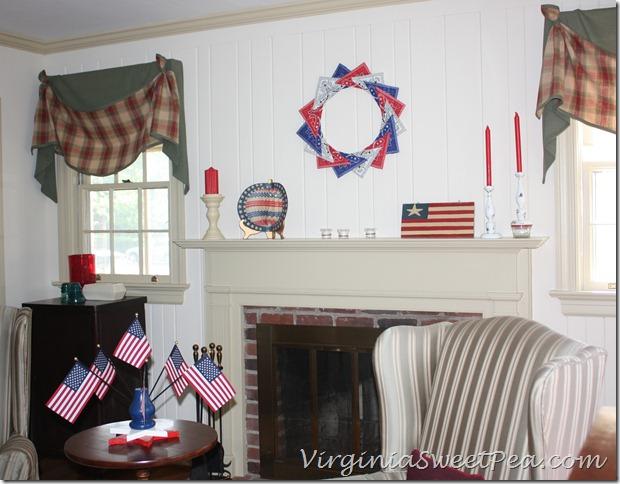 4th of July Mantel3