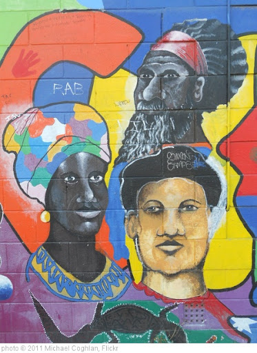 'Multicultural Mural' photo (c) 2011, Michael Coghlan - license: http://creativecommons.org/licenses/by-sa/2.0/