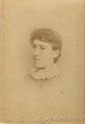 Cabinet Card Erna Jones Owattona MN DL Antiques