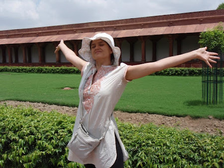 Imagini Agra: Zen in India cu noua mea rochie indigena