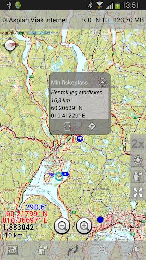 Norgeskart Maps of Norway