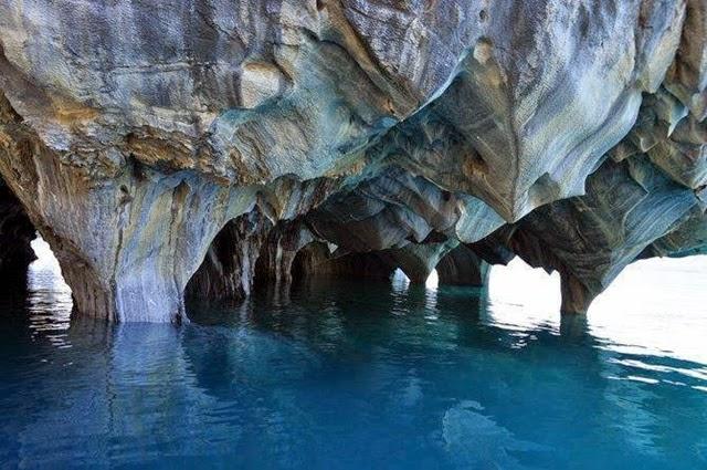 Patagônia – a beleza da caverna de Marmol 2