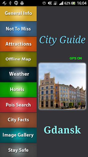 Gdansk Offline Map Guide
