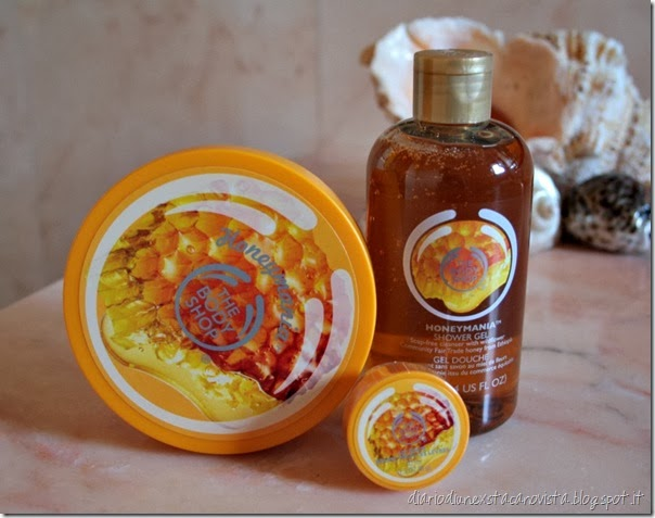 the body shop honeymania (2)