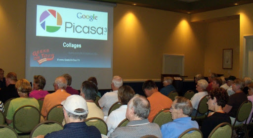 Had a good crowd for our spur-of-the-moment seminar at Sun City Hilton Head