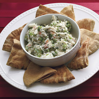 Crab and Celery Remoulade.