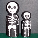 Costumed Peg Dolls